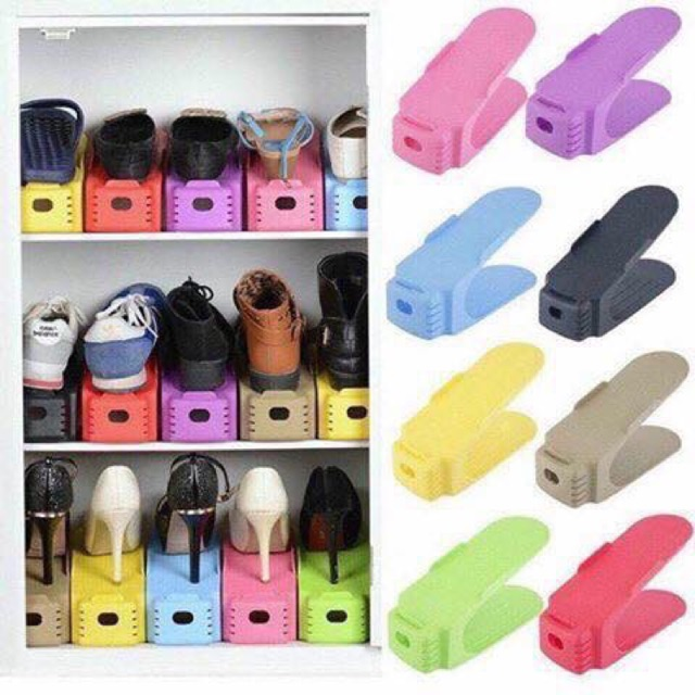Kệ để giày thông minh giúp bạn tiết kiệm không gian sử dụng trong tủ giày, vừa đẹp vừa ngăn nắp. 180k/10c - 22238297 , 812165657 , 322_812165657 , 18000 , Ke-de-giay-thong-minh-giup-ban-tiet-kiem-khong-gian-su-dung-trong-tu-giay-vua-dep-vua-ngan-nap.-180k-10c-322_812165657 , shopee.vn , Kệ để giày thông minh giúp bạn tiết kiệm không gian sử dụng trong tủ g