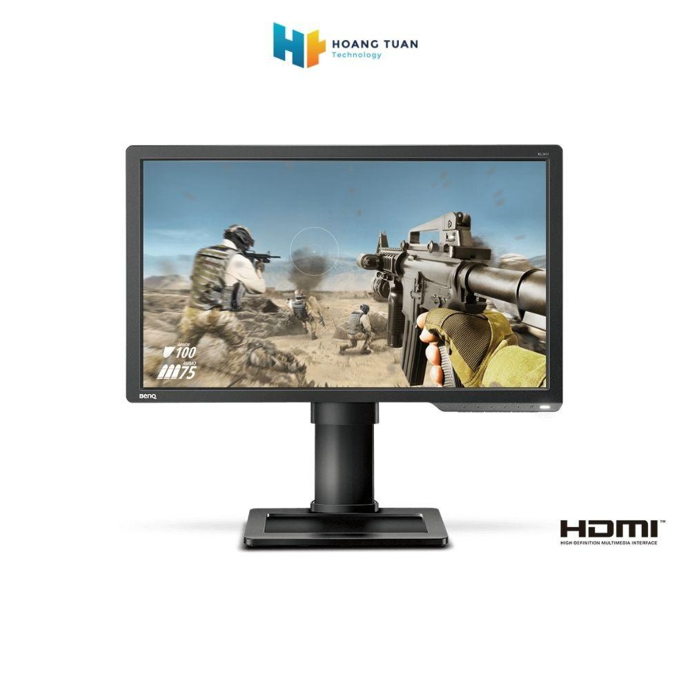 Màn hình LED (LCD) BenQ ZOWIE XL2411P màu xám đen 24inch