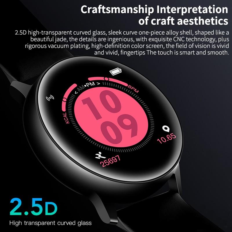 Đồng Hồ Thông Minh Vend C10 Kết Nối Bluetooth Theo Dõi Sức Khỏe Kèm Phụ Kiện