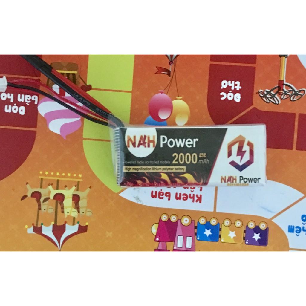 Pin Lipo NAH Power 2s 2000mAh 45C