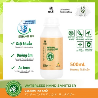 [Mua 1 tặng 1] Gel rửa tay khô KHÁNG KHUẨN HaSi Kokeshi – 500 mL không vòi