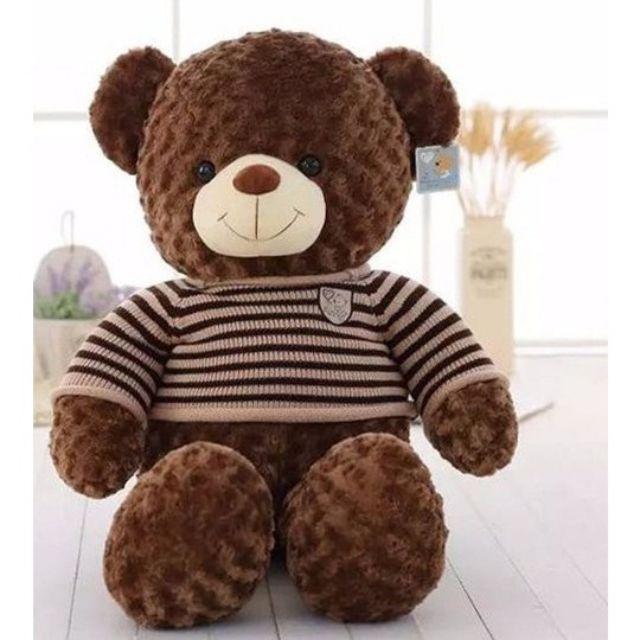 Gấu Teddy khổ 1m ( đứng cao