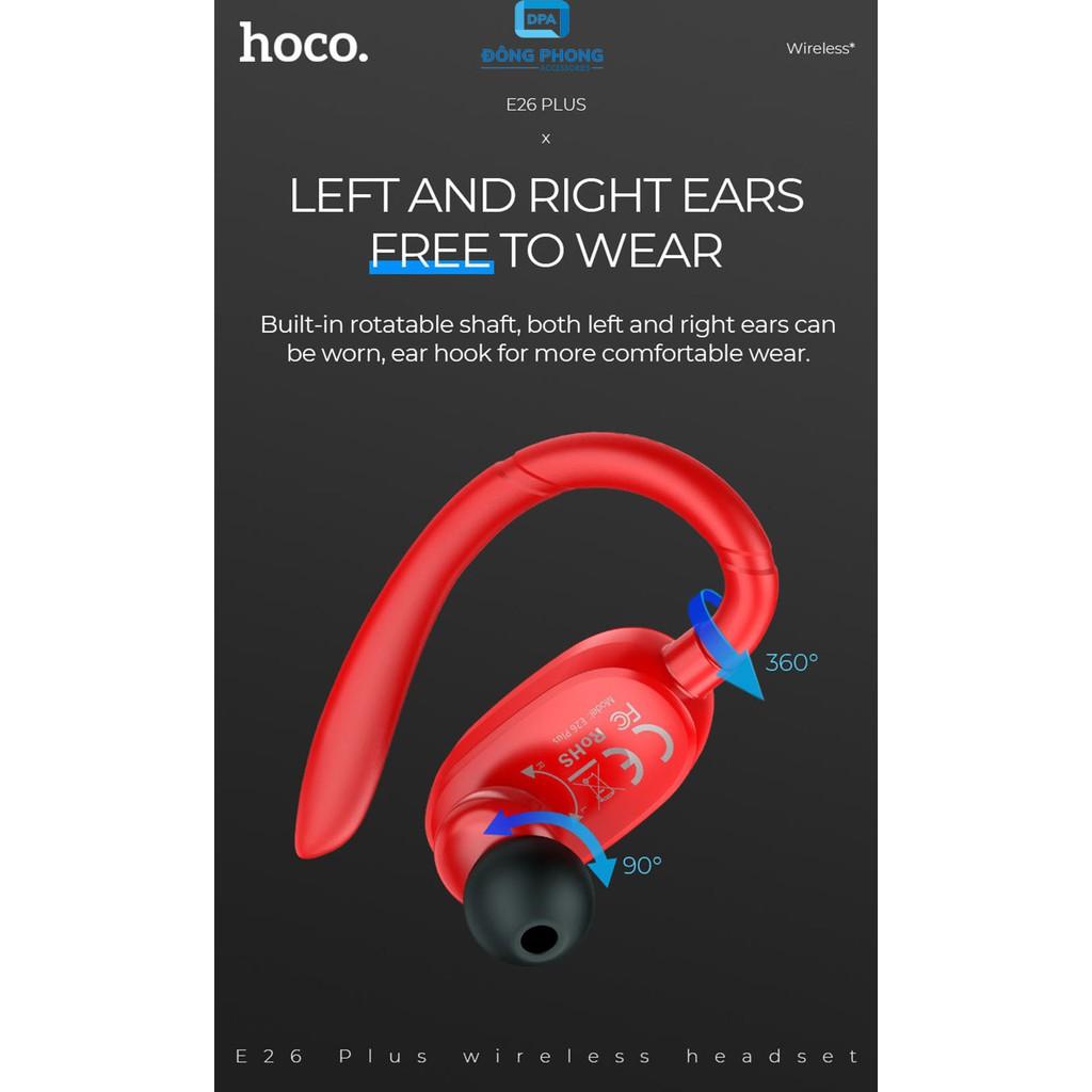Tai Nghe Bluetooth Hoco E26 Plus V5.0 Chính Hãng