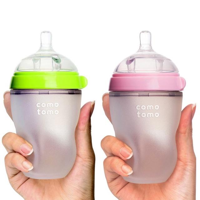 Bình sữa Comotomo chính hãng cho bé lười ti bình - 2587724 , 373109067 , 322_373109067 , 380000 , Binh-sua-Comotomo-chinh-hang-cho-be-luoi-ti-binh-322_373109067 , shopee.vn , Bình sữa Comotomo chính hãng cho bé lười ti bình