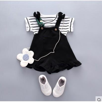 Đồ bộ bé gái quần yếm kết hợp với áo cộc tay kẻ ngang thêm phần xinh xắn - 3537825 , 1021372653 , 322_1021372653 , 145000 , Do-bo-be-gai-quan-yem-ket-hop-voi-ao-coc-tay-ke-ngang-them-phan-xinh-xan-322_1021372653 , shopee.vn , Đồ bộ bé gái quần yếm kết hợp với áo cộc tay kẻ ngang thêm phần xinh xắn
