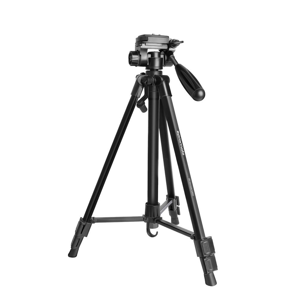 Chân máy-Tripod-Monopod Promate Precise-140 rộng 52-140cm