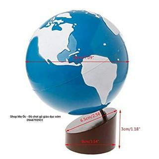 Quả cầu đại dương và đất liền ( Globe of land and water) – Nhám