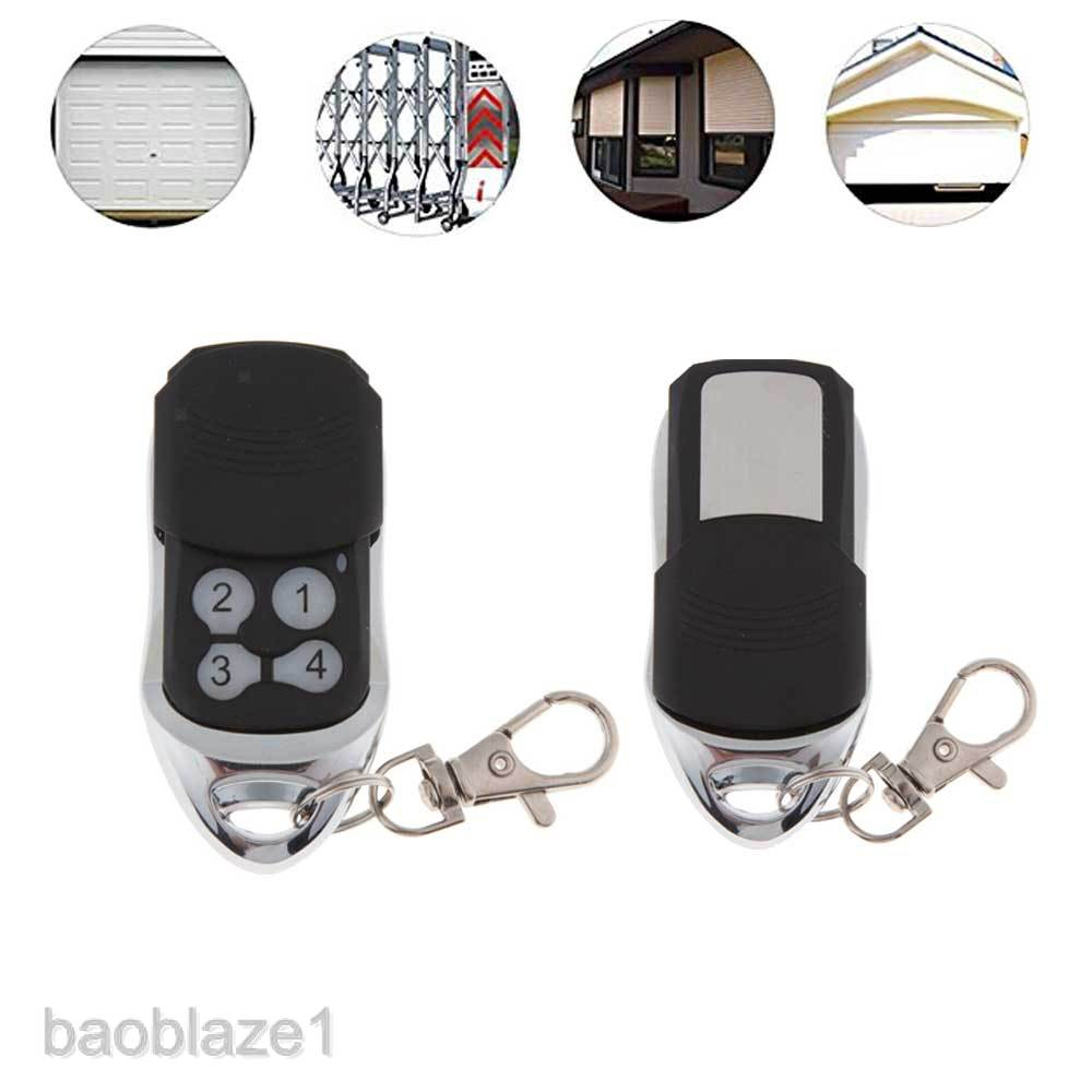 4 Buttons 433.42mhz Garage Door Gate Remote Control Rolling Code Opener For Electric Curtains, Retractable Doors