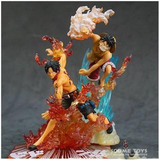 Set Mô hình Figuarts (PVC Figure) ZERO LUFFY & ACE BROTHERS BOND – ONE PIECE