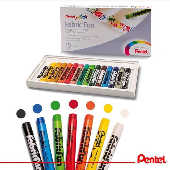 Phấn màu vẽ lên vải cao cấp Pentel PTS-15 hàng chính hãng 100%