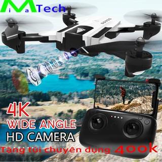 Flycam 4K Camera kép SG900 bản 22 phút Drone Máy bay điều khiển từ xa thông minh gấp gọn tặng túi đựng chuyên dụng