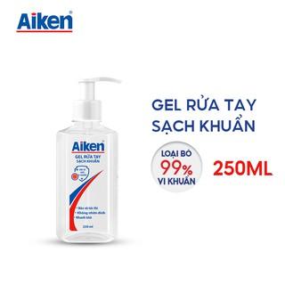 [Mã AIKE20149 giảm 20K đơn 149K] Aiken Gel rửa tay Sạch khuẩn 250ml Dạng vòi thumbnail