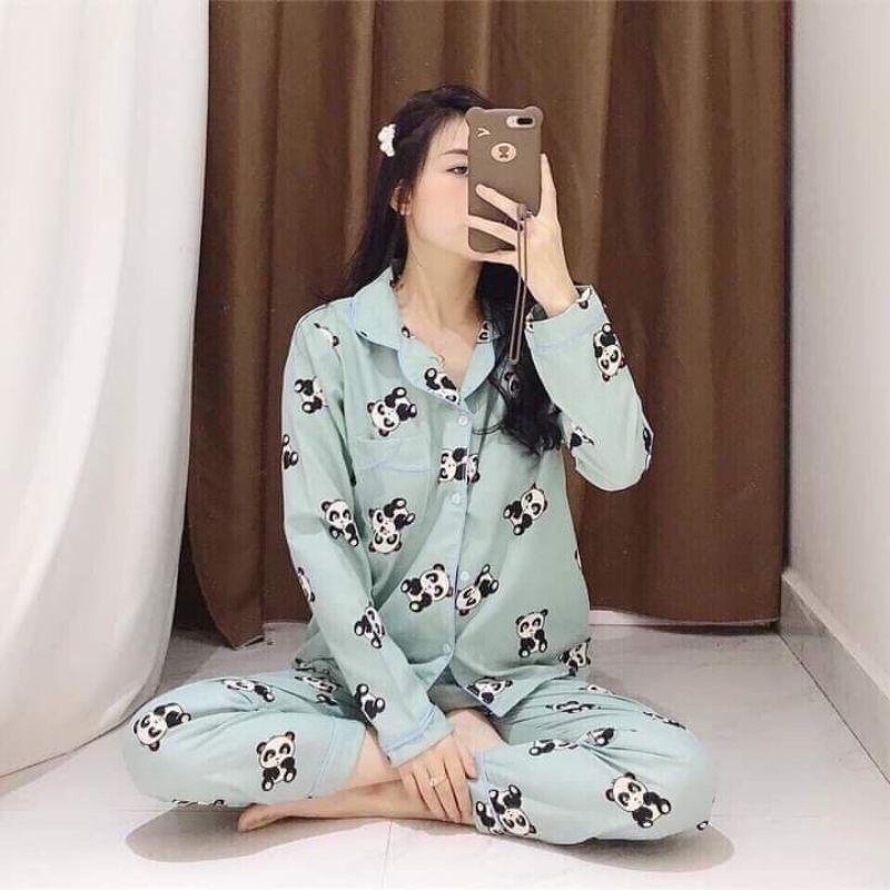 Mặc gì đẹp: Mát mẻ với Bộ pyjama KATE TAY DÀI hàng thiết kế