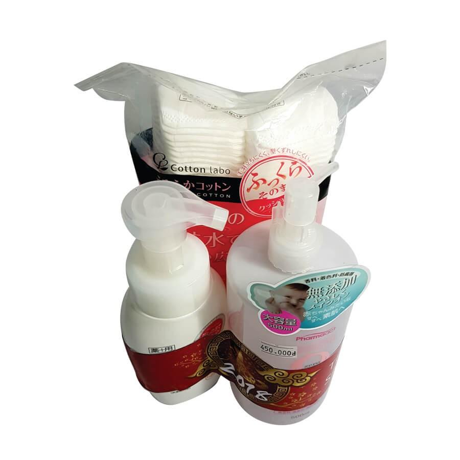 Combo sữa rửa mặt reihaku 200ml Pharmaact 500ml xuất xứ Nhật Bản Tặng 1 bịch bông tẩy trang (SP00023 - 3582691 , 1334212493 , 322_1334212493 , 450000 , Combo-sua-rua-mat-reihaku-200ml-Pharmaact-500ml-xuat-xu-Nhat-Ban-Tang-1-bich-bong-tay-trang-SP00023-322_1334212493 , shopee.vn , Combo sữa rửa mặt reihaku 200ml Pharmaact 500ml xuất xứ Nhật Bản Tặng 1