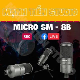 Mic thu âm Takstar SM-8B - SM8B chất lượng âm thanh tuyệt đỉnh