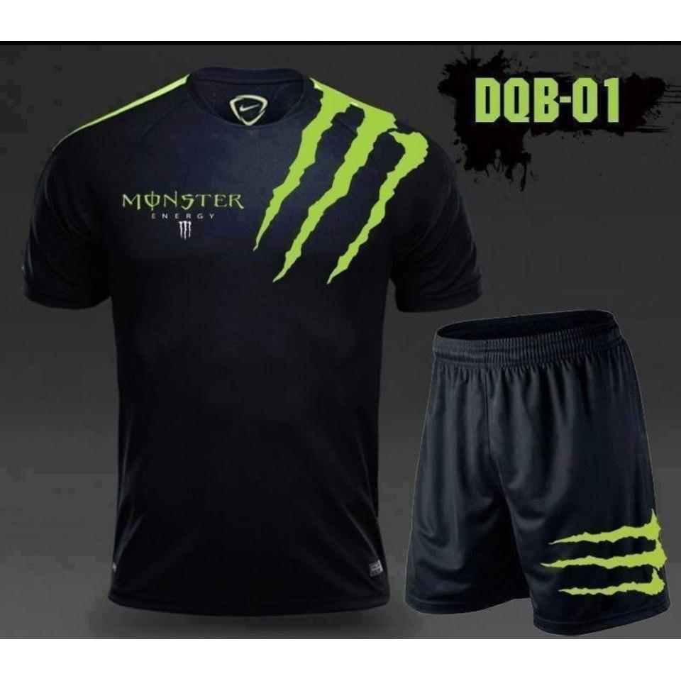 Mặc gì đẹp: Gọn tiện với Đồ bộ thể thao nam tập gym, mặc ở nhà Monster