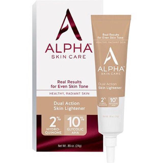 Kết quả hình ảnh cho alpha skincare hydroquinone