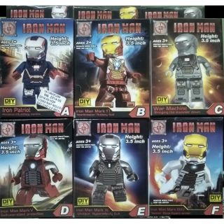 LEGO IRON MAN CAO 3.5 INCH DIY COLLECTION