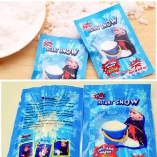 5 gói Tuyết nhân tạo bông tuyết trắng hàng loại 1 nguyên liệu làm slime