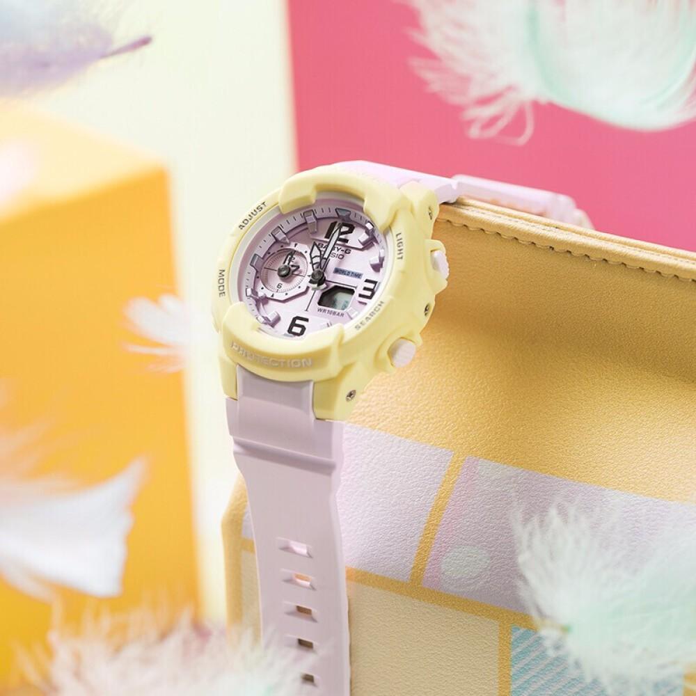 Đồng hồ nữ dây nhựa Casio Baby-G chính hãng Anh Khuê BGA-230PC-9BDR