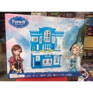 Bộ đồ chơi nhà bếp công chúa Elsa và Anna.