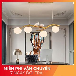 Đèn thả trần,đèn trang trí,đèn thả bàn ăn,đèn chim- Đèn chùm chim đôi, đèn chùm phòng khách, phòng ăn