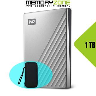 Ổ cứng di động Western Digital My Passport Ultra 1TB USB Type-C 3.0 - Bảo hành 3 năm tại WD Việt Nam
