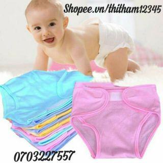 ( MIỄN SHIP Ở HCM) Lốc 5 Quần đóng bỉm dành cho bé sơ sinh siêu rẻ ( sỉ / rẻ / dạo / mẹ và bé)