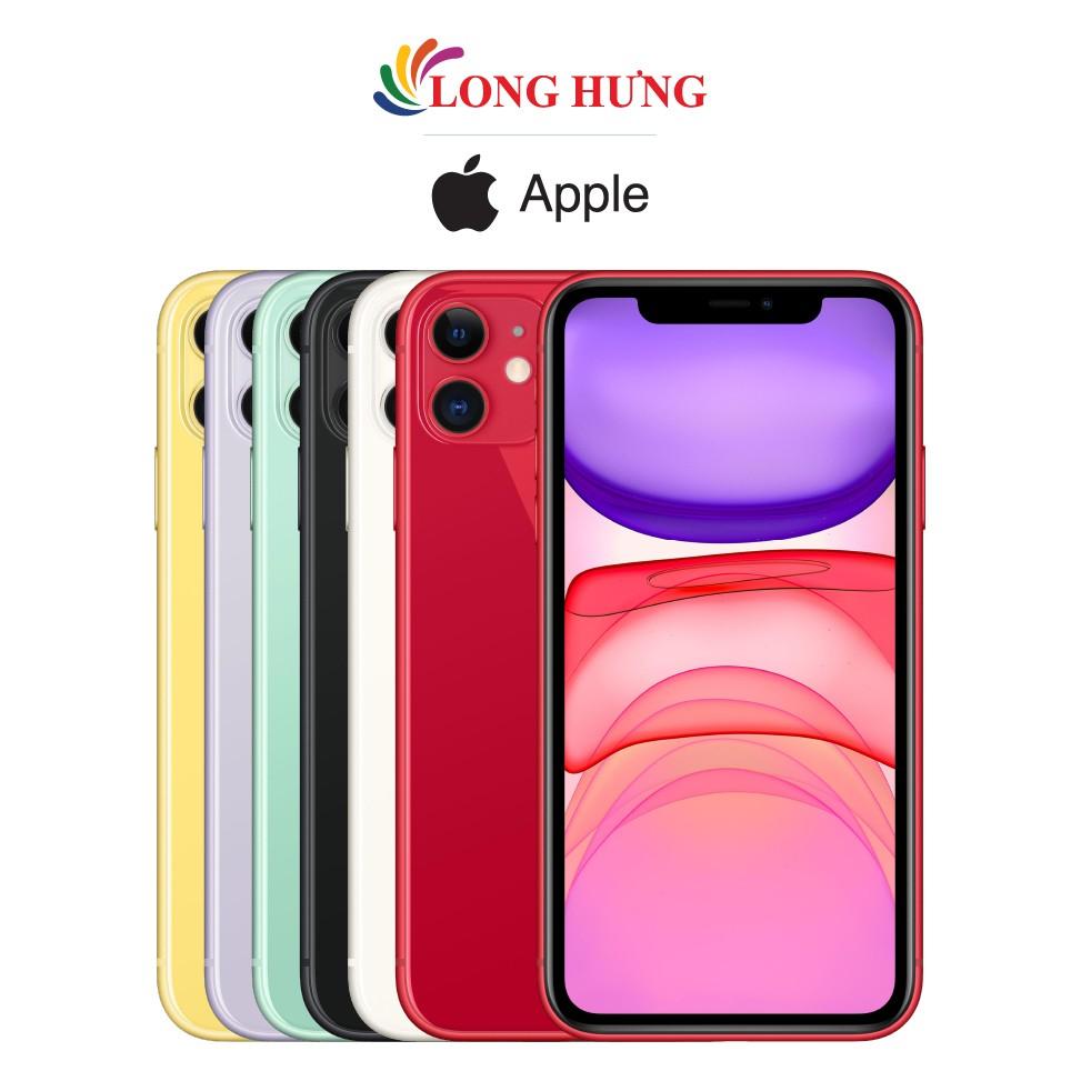 [Mã ELMALLCOIN hoàn 8% xu đơn 500k] Điện thoại Apple iPhone 11 64GB (VN/A) - Hàng chính hãng