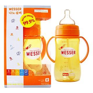 Bình sữa wesser 260ml + ống