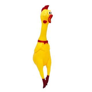 Đồ chơi gà bóp kêu Shrilling Chicken size 40 cm S6758 giảm nhẹ