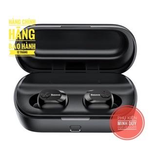 Tai nghe True Wireless Baseus Encock W01 Earphones (TWS, Bluetooth V5.0, Waterproof, Charging Case)