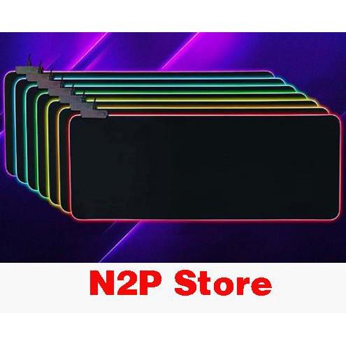 Bàn Di Chuột Mousepad Led RGB Siêu Chất Loại Full Size 80cm x 30cm Giá chỉ 259.000₫
