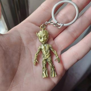 Mô hình Groot móc khóa Thép nguyên khối, Marvel Figure Guardians of the Galaxy, Vệ binh giải ngân hà