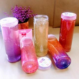 Vật Chất Biến Hình (Slime) – Bình Nước Cao (Galaxy Kim Tuyến) – combo 2 chai