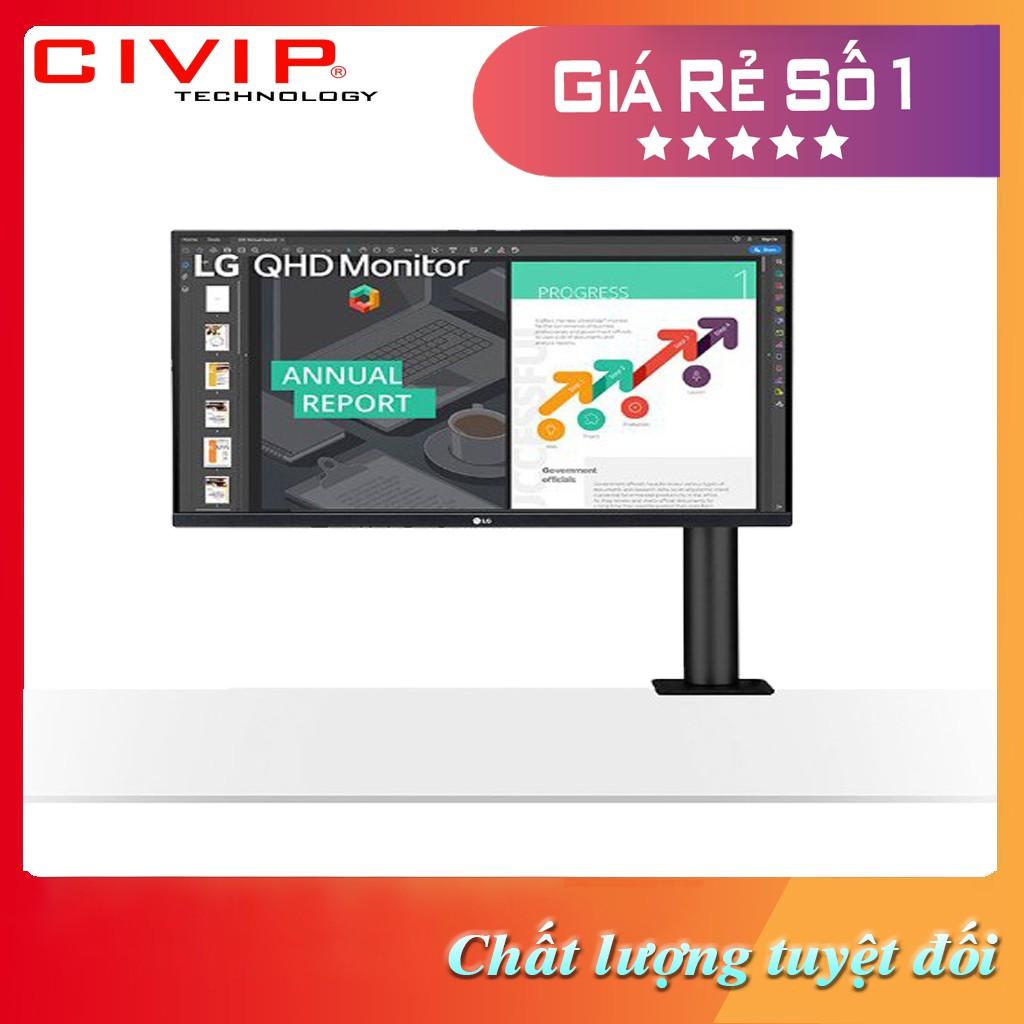 """Màn hình LCD LG 27"""" 27QN880 Ergo, QHD, IPS - Hàng chính hãng"""