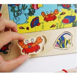 Bộ đồ chơi câu cá bằng gỗ kèm ghép hình - 10081838 , 660317972 , 322_660317972 , 90000 , Bo-do-choi-cau-ca-bang-go-kem-ghep-hinh-322_660317972 , shopee.vn , Bộ đồ chơi câu cá bằng gỗ kèm ghép hình