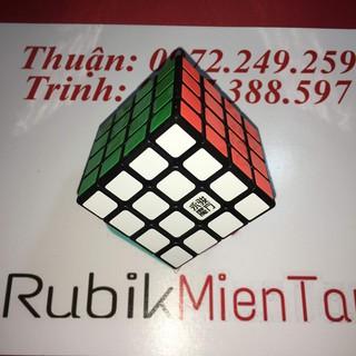 YJ YUSU R – RUbik 4x4x4 bản đen sticker của YJ