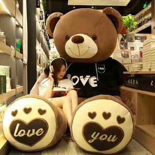 Gấu Bông Tình Yêu Khổ Vải 1m 1m2 1m4 – Quà Tặng Quà Sinh Nhật Ý Nghĩa Cho Bạn Gái