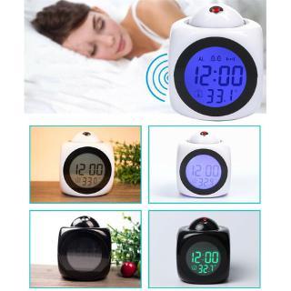 Đồng hồ báo thức tích hợp đèn LED đa năng ry _ X + Bộ phụ kiện đi kèm