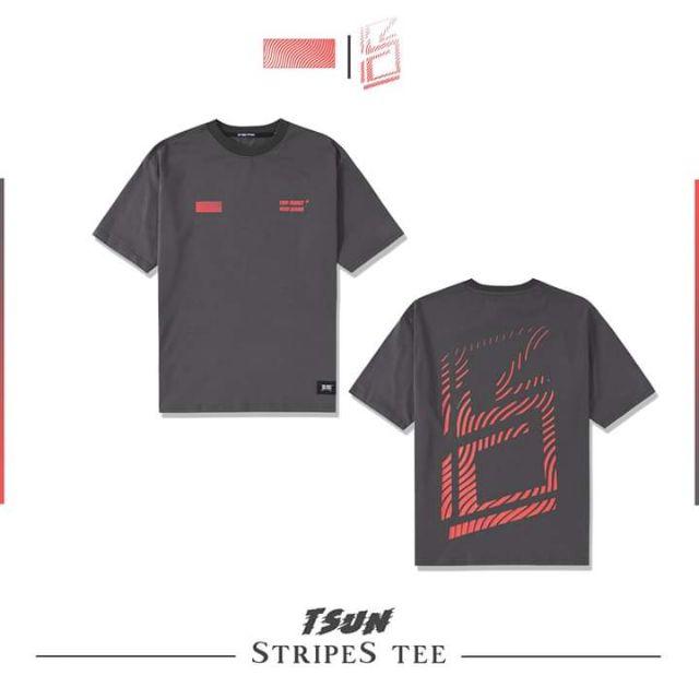 Tee tsun ( có sẵn màu bạc size M , màu hồng size S , màu tím size M ) hàng new còn bọc  #local brand #Tsun