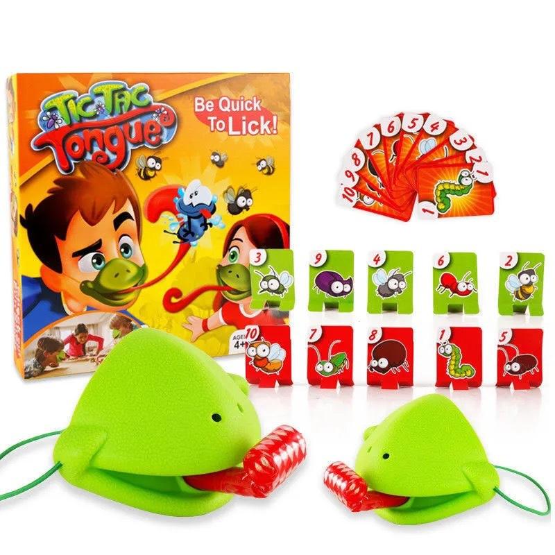 Nhà sản xuất trực tiếp ếch trò chơi bàn ăn rắn thằn lằn chơi trò chơi bàn tương tác với con cái