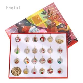 Bộ Hộp Quà Tặng Giáng Sinh Gồm Lịch Và Vòng Tay / Dây Chuyền / Đồng Hồ Đếm Ngược Weifeng 1