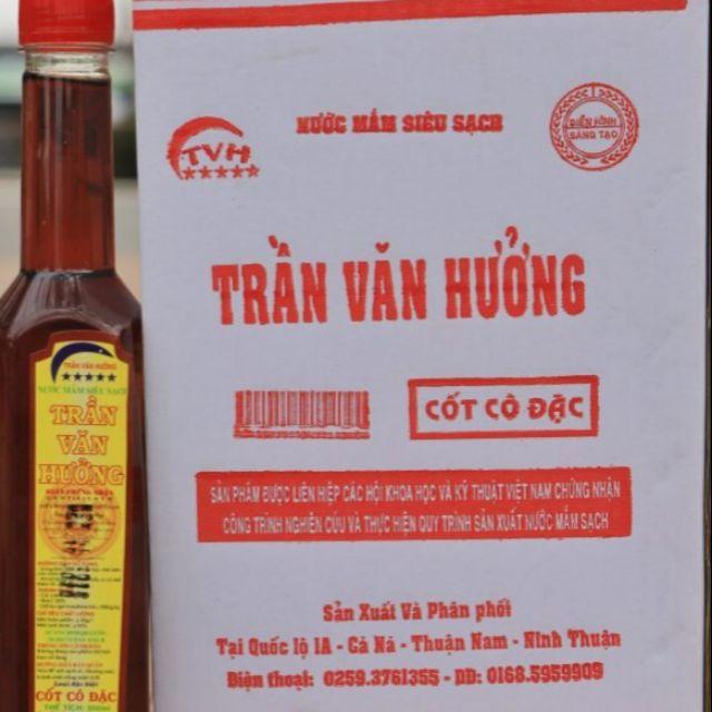 Nước mắm siêu sạch Trần Văn Hưởng (loại cốt cô đặc) được Hội Khoa học và Kỹ thuật Việt Nam chứng nhận nước mắm siêu sạch