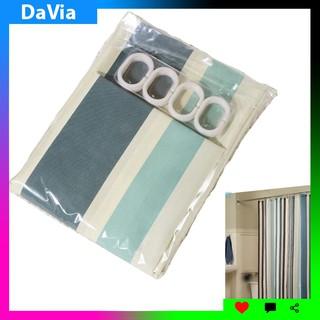 [Mã LIFEXANH24 giảm 10% đơn 99K] Rèm phòng tắm cao cấp Davia HT714 (kèm sẵn móc treo)