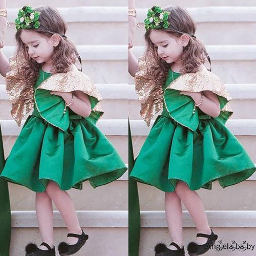 Đầm Xòe Công Chúa Lộng Lẫy Cho Bé Gái