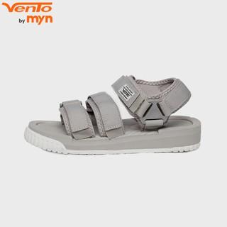 Giày Sandal Vento Nam Nữ - công nghệ IP- HSD9801 M2 Ghi (xám)