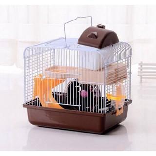 Lồng hamster 2 tầng đầy đủ phụ kiện [GIÁ GỐC TẠI XƯỞNG] [ Sản phẩm và phụ kiện như hình ] thumbnail