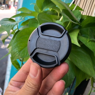 Nắp Đậy Ống Kính (Lens Cap) - Không Chữ - Loại Bấm Trong - Full Size thumbnail