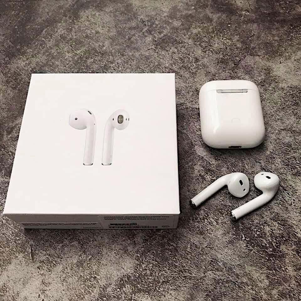 Tai nghe airpods Bluetooth Bản nâng cấp thể hệ thứ 2 cao cấp